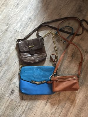 Fossil Brand Small Leather Cross Body Purses for Sale in Nashville, TN
