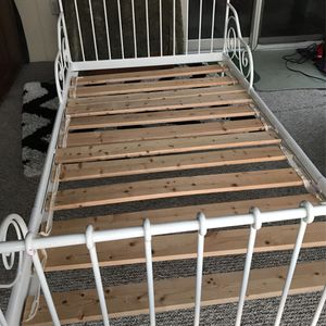 Ornate Metal Adjustable Twin Bed Frame for Sale in Hampton Township, PA
