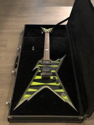 Dean Razorback Guitar with Hard Case for Sale in Redmond, WA