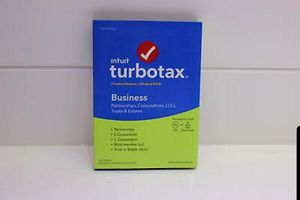 Intuit 2018 TurboTax Business CD for Windows for Sale in Antioch, CA