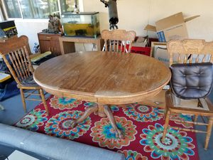 Free! You pick up. Table and 3 chairs for Sale in San Bernardino, CA