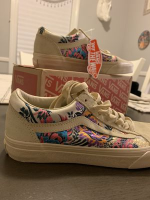 Floral Vans Women's 6.5 New for Sale in Warwick, RI