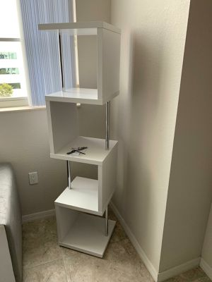 NEW White BOOKCASE for Sale in Fort Lauderdale, FL