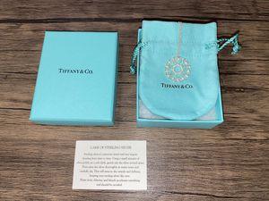 """Tiffany & Co Paloma Picasso Venezia Goldoni Heart Medallion 19.5"""" Necklace for Sale in Burbank, CA"""