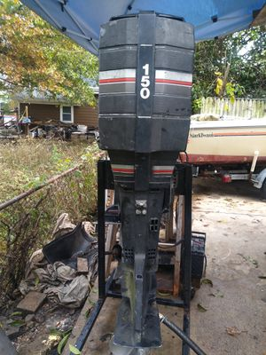 Mercury black max xr2 150hp 25inch outboard motor for Sale in Riverdale, MD