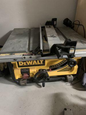 Dewalt Table Saw 745 for Sale in Fresno, CA