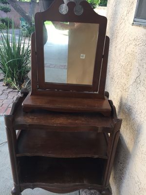 Antique furniture and mirror for Sale in Downey, CA
