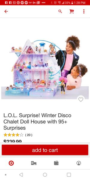Lol. Suprise winter disco chalet doll house for Sale in Los Angeles, CA