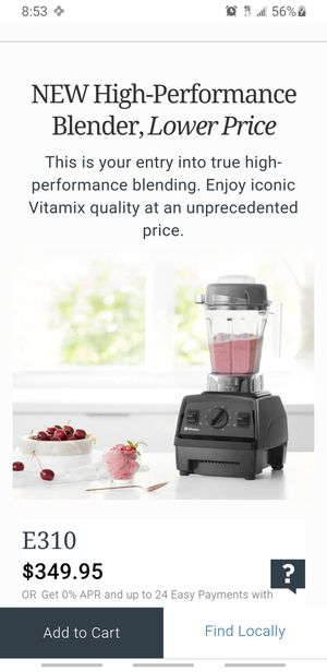 New never used Vitamix Blender E310 for Sale in Seattle, WA