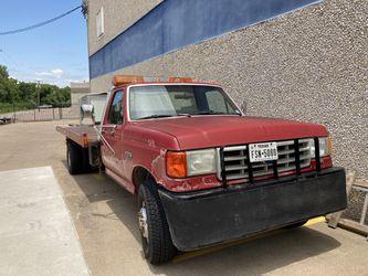 1991 Ford Flatbed Wrecker for Sale in Dallas,  TX