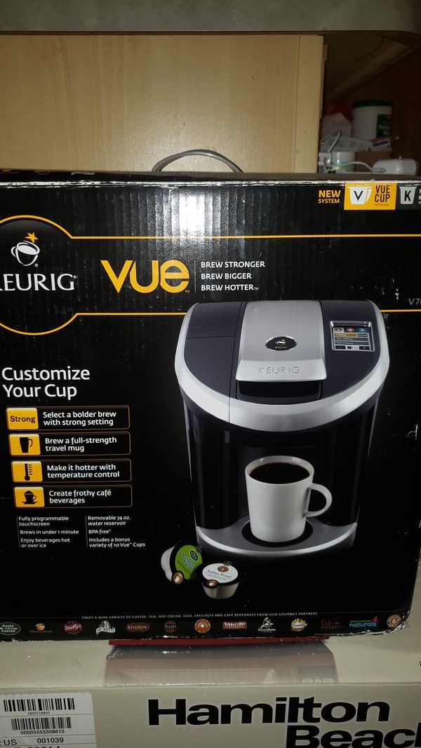 Keurig Vue Brewing System with Reusable Adaptor for use with Keurig Vue Brewers