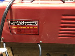 130 AMP TIG/90 AMP ARC Welder for Sale in Florissant, MO