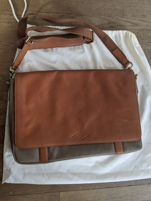 Fossil Leather Messenger Bag for Sale in Seattle, WA