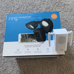 Ring Floodlight Can With Chime - Still In Box for Sale in McKinney, TX