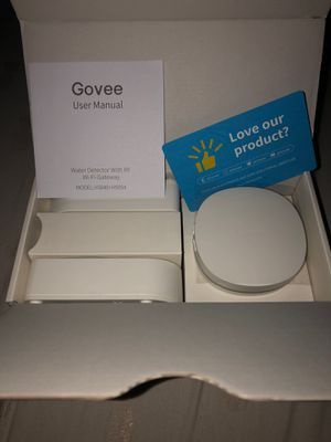 Govee Water Detector with RF Wi-Fi Gateway for Sale in Pomona, CA