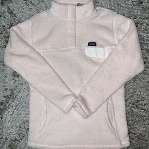 NEW Patagonia Pink ReTool Snap T Pull Over Sweater Fleece Top Womens Small Girls XXL for Sale in Chicago, IL