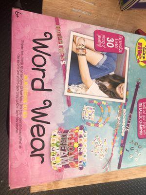 Word wear bracelet kids toy for Sale in Irvine, CA