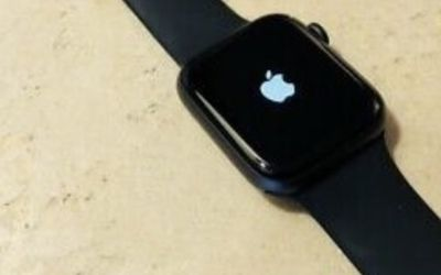 Series 5s Apple Watch Black with Black Band 44mm for Sale in Silver Spring,  MD