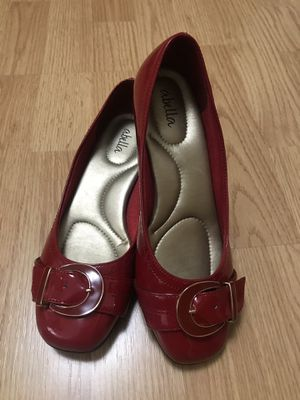 Abella red patent leather shoes size 5.5 for Sale in Miami, FL