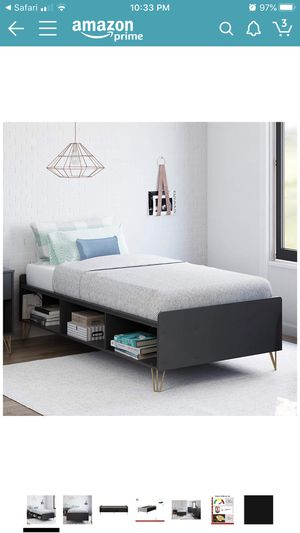 Twin platform bed for Sale in Rancho Cucamonga, CA