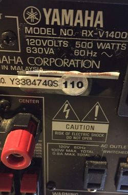 Yamaha Received for Sale in Greenville,  SC