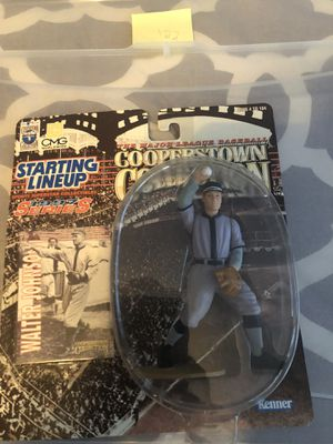 Walter Johnson 1997 series action figure for Sale in Dallas, TX