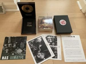 Nas - Illmatic Gold Edition CD Boxset 2000 Copies Made Hip Hop Classic Rap for Sale in Lancaster, PA