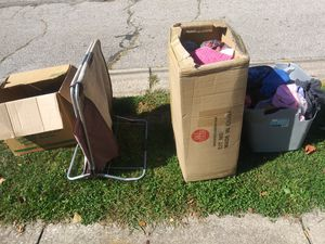Free xxl clothing & shoes alot free , free , 765 Eugene st for Sale in Akron, OH