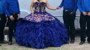 Quinceanera dress Mexican for Sale in Dallas, TX