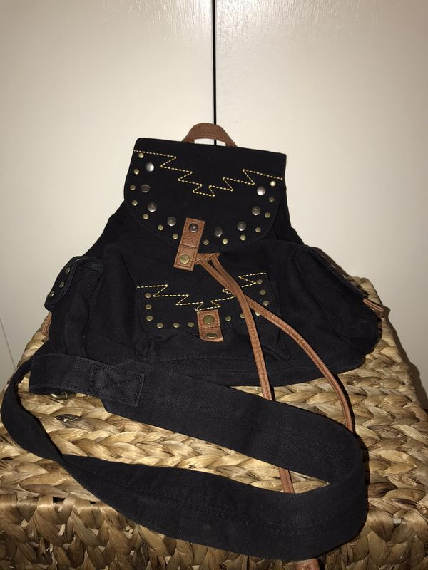 ROXY black and brown backpack