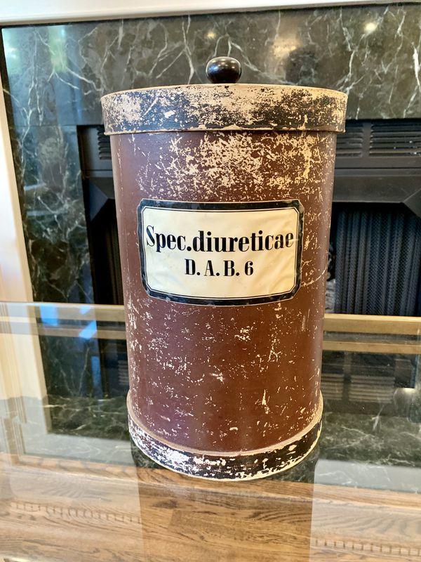 Antique European Apothecary Container