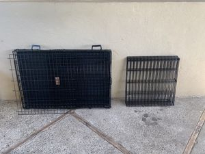 Large Dog Kennel and Foldable Exercise Pen for Sale in San Mateo, CA