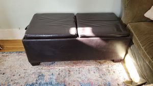 Large storage bench/ottoman for Sale in Portland, OR