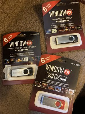 Windows FX Clips. -6videos on each. 3. Different ones for Sale in Cleveland, OH