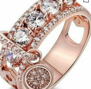 Sterling Silver/ Sapphire Rosegold Ring for Sale in Lake Alfred, FL