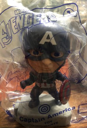 McDonald's Avenger toy #1 Captain America for Sale in Los Angeles, CA