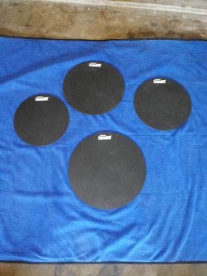 "Evans SoundOff 4-piece Drum Mute Pack - 10"", 12"", 14"", and 16"" for Sale in Fort Worth, TX"