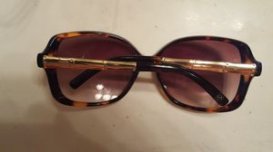PANAMA JACK!! POLARIZE DOUBLE TINT TORTOISE STYLE GOLD TONE BAMBOO LADY LARGE SUNGLASSES MINT NEW !! ASK CRAZY BARGAIN $65.00 SALE for Sale in Houston, TX