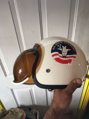 Antique helmet griffin snap on shell for Sale in Wheeling, IL