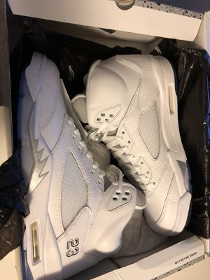 Brand New Store Bought Nike Air Jordan Retro 5 Size 10.5- No Trades for Sale in Chicago, IL