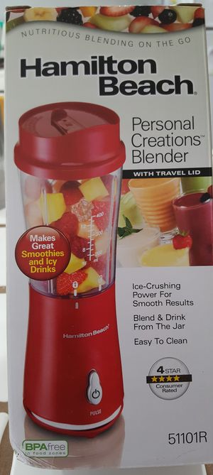 Hamilton Beach Personal Blender (14 oz) for Sale in Downey, CA