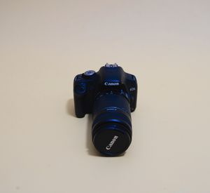 Canon EOS 500D w/ EF-S 55-250mm lens for Sale in New Haven, CT