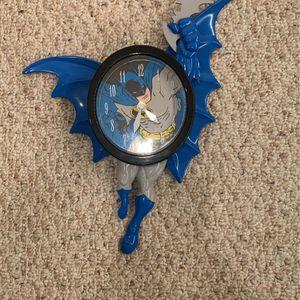 Moving Batman Vintage Clock for Sale in Ashburn, VA