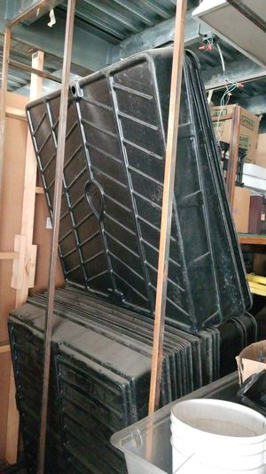 4x4 black grow trays for Sale in Los Angeles, CA