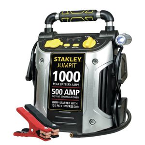 STANLEY 1000/500 Amp Jump Starter W/120 PSI Compressor (J5C09) for Sale in Merchantville, NJ