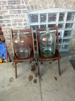 Antique glass jugs for Sale in Chicago, IL