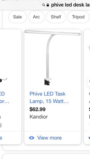 NEW PHIVE led adjustable desk task lamp for Sale in Camarillo, CA