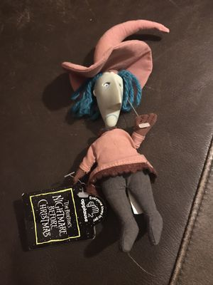 Rare Nightmare Before Christmas Shock Witch Doll with Removable Mask for Sale in Detroit, MI