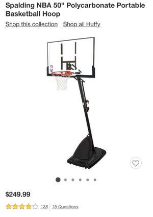 Spalding portable Basketball Hoop for Sale in Los Angeles, CA