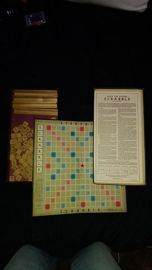 1953 Scrabble game for Sale in Cleveland, OH